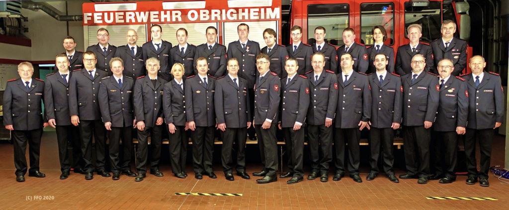 Freiwillige Feuerwehr Obrigheim - Abteilung Obrigheim - Februar 2020